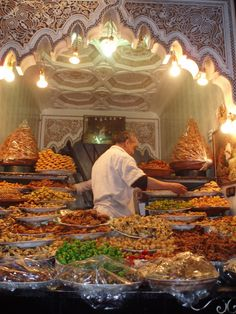 An array of Moroccan pastries