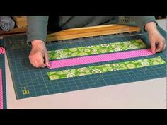 Its not a ruler its a Quilters Slidelock.  How-to video shows quilters of all experience levels how to use a Quilters Slidelock tool in place of the flat rulers commonly used when cutting width-of-fabric WOF strips and quilt block pieces.  Quilters Slidelock tools use a full length retractable gripper system to lock both Slidelock and fabric t...
