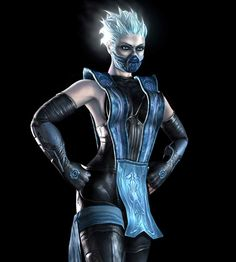 View an image titled 'Frost Art' in our Mortal Kombat: Deadly Alliance art gallery featuring official character designs, concept art, and promo pictures. Arte Kombat Mortal, Kung Jin, Minions, Johnny Cage, Mileena, Arte Dc Comics, Marvel, Black Dragon, Halloween Disfraces