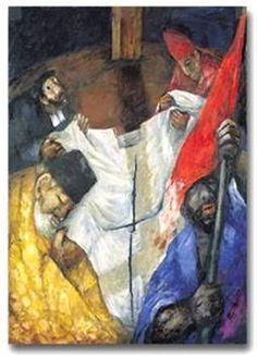 Sieger Koder (Camino a la cruz)    Jesús es sentenciado a muerte     Jesús carga con la cruz     Jesús cae por primera vez      Jesús se en...: