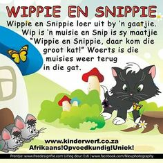 Wippie en Snippie | Afrikaanse rympies en liedjies Preschool Learning, Classroom Activities, Teaching, Afrikaans Language, Pre Primary School, Afrikaans Quotes, Rhymes Songs, Kids Poems, Rhymes For Kids