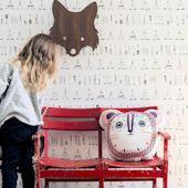 Ferm Living Kids WallSmart Native x Scenic Wallpaper