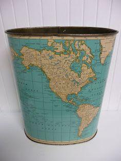 Peppermint Home: Inspirációk Földgömbökre és világtérképekre 2.