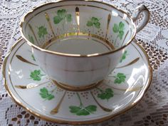 shamrock teacups by Phoenix