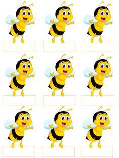 Guardería para siempre ....: formulario de asistencia: Árbol y Juguetes por edad  #arbol #asistencia #de #Edad #formulario #Guardería #Juguetes #para #por #siempre Bee Activities, Bee Pictures, School Labels, Spelling Bee, Bee Party, Cute Bee, Bee Crafts, Bee Theme, Classroom Themes