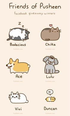 Pusheen's Friends
