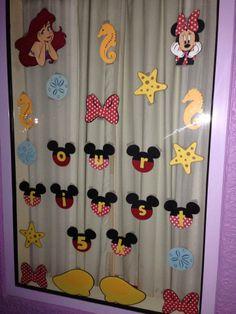 Window decoration from our Princess 5K in Disney last week #Disney #5K