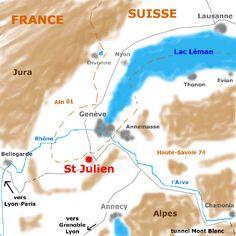 Saint-Julien-en-Genevois, Auvergne-Rhône-Alpes region, France