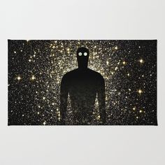 TRANSHUMANISM Rug by THE USUAL DESIGNERS - $28.00
