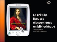 Diaporam : le prêt de liseuses électroniques en bibliothèques