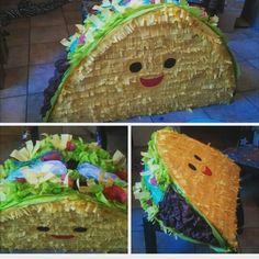 Cute taco fiesta piñata