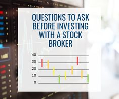 Before investing with a broker, you should always ask questions about any investment. Having a strong question base will help you determine the validity and value of both the investment in question and the brokerage firm you are dealing with. You should always write down the responses you receive. Remember that the brokers are supposed to work for YOU, so do not hesitate to get a#thefrankowskifirm #brokerfraud #investmentloss #securitiesfraud #failtosupervise #brokerfraudattorneys… Questions To Ask, This Or That Questions, Brokerage Firm, Stock Broker, Investment Firms, Work On Yourself, No Response, Stuff To Do, Investing