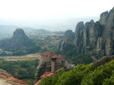 """See 1386 photos from 6501 visitors about meteora, greece, and scenic views. """"In the central Greece one of the most impressive & special places in the. Mykonos, Santorini, Macedonia, Albania, Montenegro, Acropolis, Ancient Greece, Greek Islands, Places To Travel"""