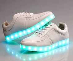 LED shoes have became a very popular trend for a long time.