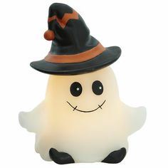 Ghost LED Candle  - I have been enjoying this cutie all season long. Some people get flowers or balloons as get well gifts. I get Halloween decorations! I like this better! Flowers will die. Balloons lose their air. But as long as thus is stored properly, I can enjoy this for many more Halloween seasons!