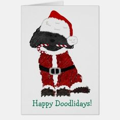 Shop Personalized Christmas Labradoodle Santa Claus created by the_doodle_dog. Design Your Own Stickers, Custom Stickers, Doodle Dog, Christmas Holidays, Merry Christmas, Xmas, Vinyl Sheets, Christmas Stickers, Labradoodle