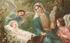 Child Jesus with Mary and Angels | Flickr