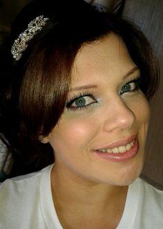 Bridesmaid make up and hair