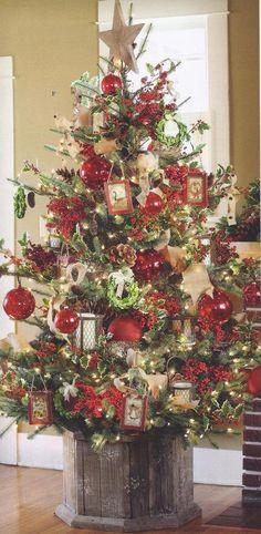Rivestire la base dell'albero di Natale! 20 idee originali…