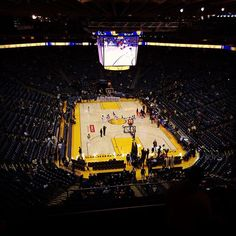 At my first game with my market team #warriors #gsw #basketball #target #2185