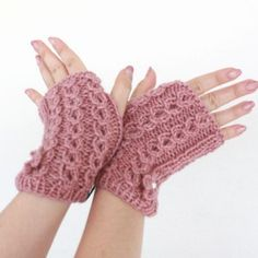 Simple arm warmers