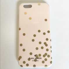 Kate Spade IPhone 6/6s Has a slight bent so that's why the price. Overall it's new without box. No trades PRICE FIRM kate spade Accessories Phone Cases