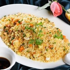 Vietnamese Recipes – Fried Rice with Salted Fish (Southern Cuisine) – Com Chien Ca Man (Mon An Nam Bo)