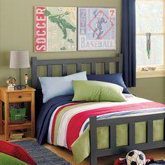 Yay, I Made It!: Themed Boy's Rooms