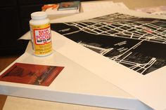 DIY canvas poster art  #pinterestingrenters #forrent.com