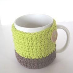 CROCHET N PLAY DESIGNS: Free Crochet Pattern: Mug Cozy