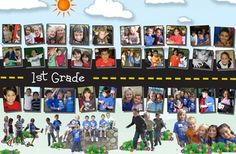 yearbook page ideas for elementary - Google Search