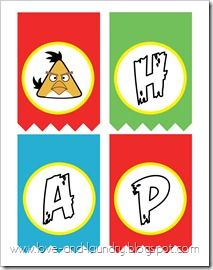 free printable bithday kit angry birds party angry birds