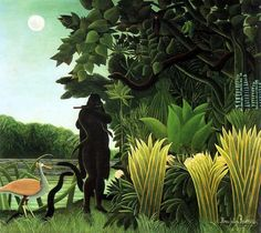 Henri Julien Rousseau, The Jungle