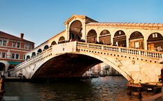 Rialto Bridge >>> I love venice!