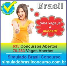 Concursos Abertos em todo o Brasil. São mais de 70 mil vagas.  Confira a listagem completa em   http://simuladobrasilconcurso.com.br/concursos-abertos  Descubra!!! Compartilhe!!! Curta!!!  Muito Obrigado e Bons Estudos, Simulado Brasil Concurso  #SimuladoBrasilConcurso, #ConcursosAbertosSBC