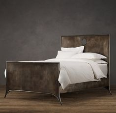 Metal king bed