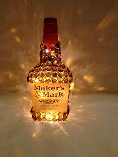 Maker's Mark Liquor Bottle Light