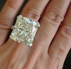 3.0 Carat Cushion Cut Conflict Free Diamond by BashfordJewelry