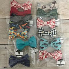 Bow ties all day every day! These and a few more are heading to their new owners! If you haven't heard about this awesome bow tie deal you are really missing out!! Buy 3 bow ties get 1 free! Add 4 bow ties to your cart and use use coupon code: BOWTIE  to see discount when checking out.  #dogbowtie #etsy #etsyseller #etsyshop #handmade #dogaccessories #lunasdogboutique #dogs #dogsofinstagram #bowtie by lunasdogboutique