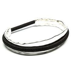 bittersweet by Maria Shireen™ - Hair Tie Bracelet - Original Design - Sterling Silver Bittersweet