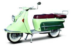 1954-1967 Heinkel Tourist The Rolls-Royce of scooters