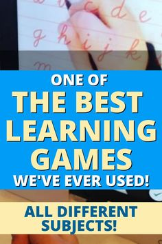 Best game based learning tool we've used for homeschool lessons and at home learning! If you're looking for video games for kids learning DEFINITELY check out this awesome learning tools for kids! #learninggames #learningtools #schoolresources #homeschoolingtips Teacher Lesson Plans, Free Lesson Plans, Preschool Lesson Plans, Lesson Plan Templates, Learning Games For Kids, Video Games For Kids, Learning Tools, Teaching Writing, Teaching Tips