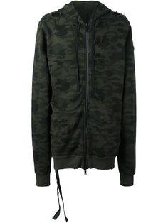 UNRAVEL camouflage print hoodie. #unravel #cloth #hoodie