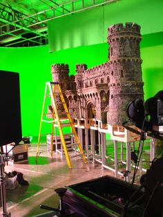 Animation Studio Attention to detail making ur set to encapsulate the audience Animation Stop Motion, Animation Reference, Model Castle, Fantasy Castle, Motion Video, Film Inspiration, Scenic Design, Movie Props, Motion Design