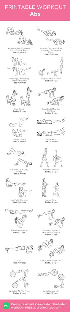 Abs –my custom workout created at WorkoutLabs.com