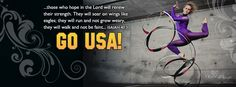Olympics 2012 Facebook Cover.  Those who hope in the Lord will renew their strength.  They will soar on wings like eagles; they will run and not grow weary, they will walk and not be faint.  Isaiah 40:31  GO USA!