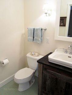 The Friendly Home: Basement Remodel (Bathroom ideas)
