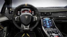 2017 Lamborghini Centenario wnętrz