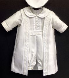 Baby Boy White Tuxedo Suit Christening Baptism  Outfit size XL, Extra Large , /#2654