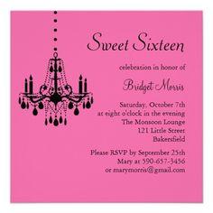 84 best sweet 16 invitations images on pinterest sweet 16